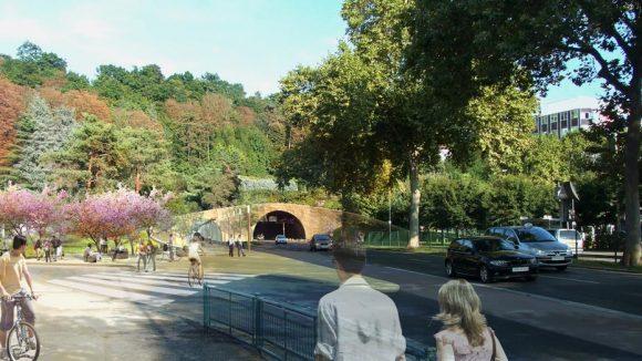 tunnel cote 9e