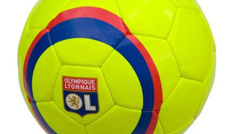 ballon de foot OL jaune
