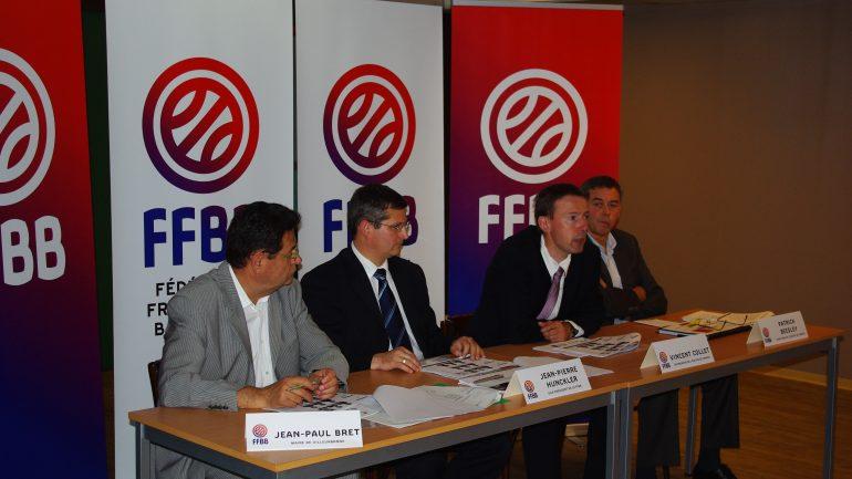 conf presse EDF basket