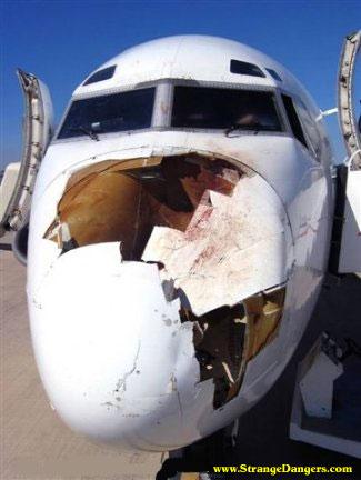 avion cassé