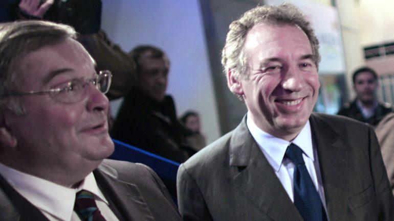 François Bayrou et Michel Mercier