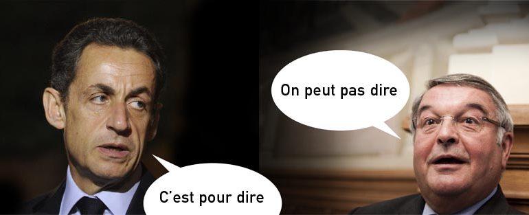 Sarkozy et Mercier