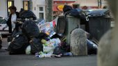 greves des eboueurs Poubelle © TD_0008
