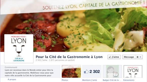 Facebook Cité gastro