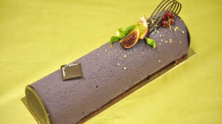bûche violette 002