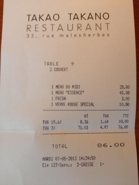 restaurant takano lyon