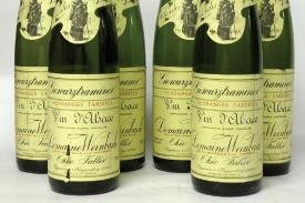 "Gewurtraminer Clos des Capucins 1998 ""vendanges tardives"""