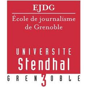 Ecole journalisme Grenoble logo