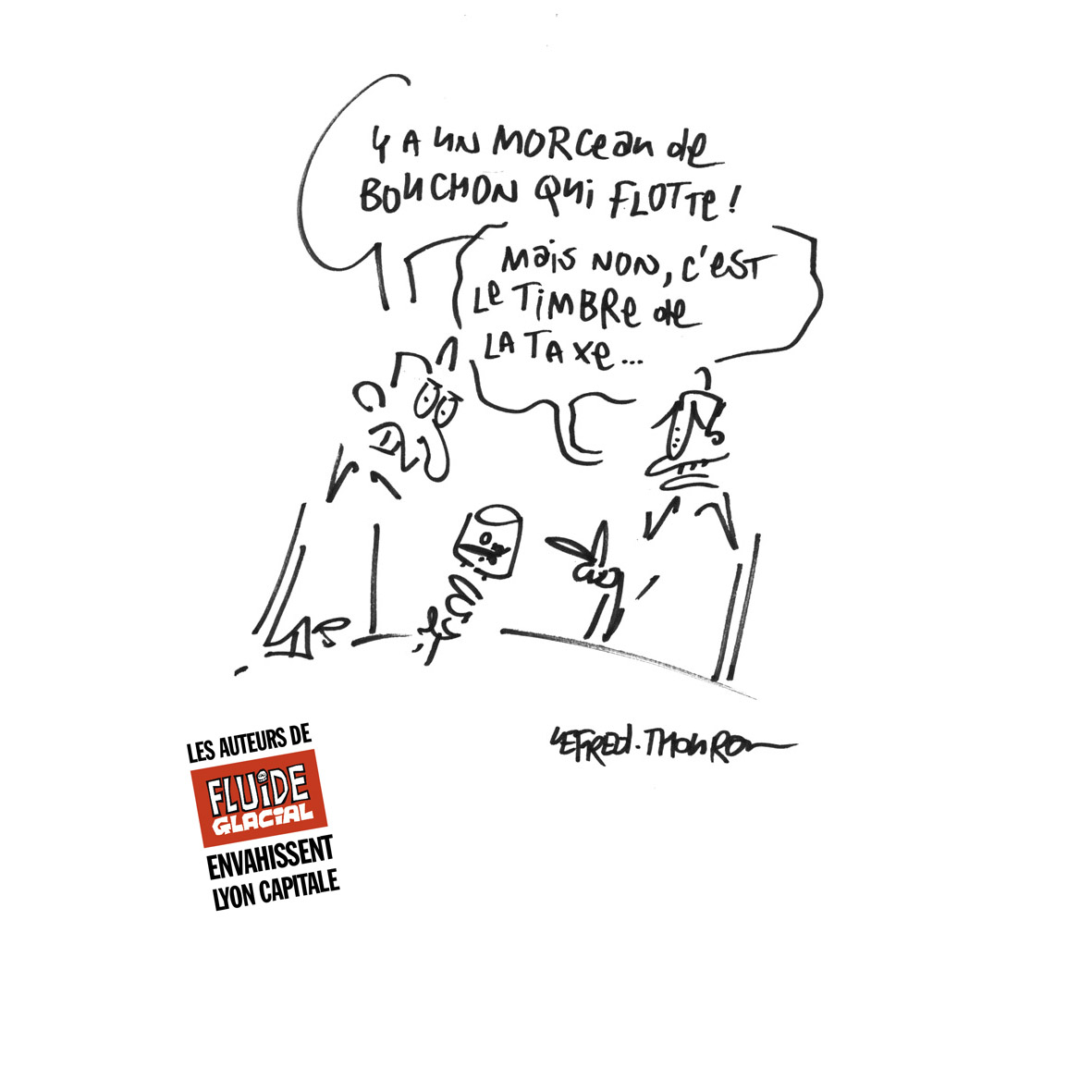 Lefred Thouron - Taxe vin ()