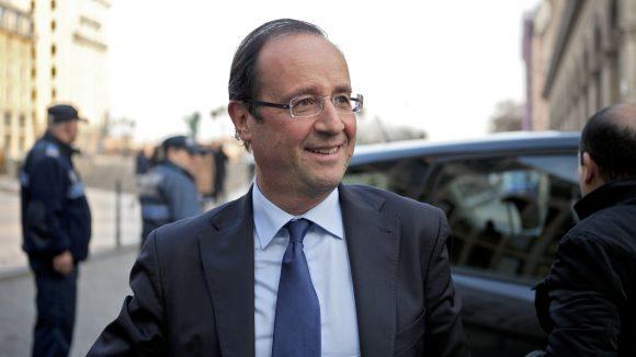 François Hollande © Tim Douet