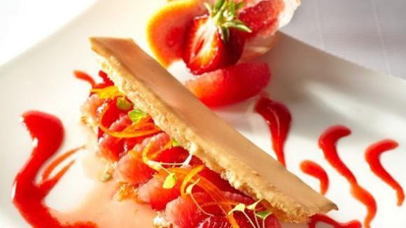 Allumette fraise pamplemousse: Guy Lassausaie