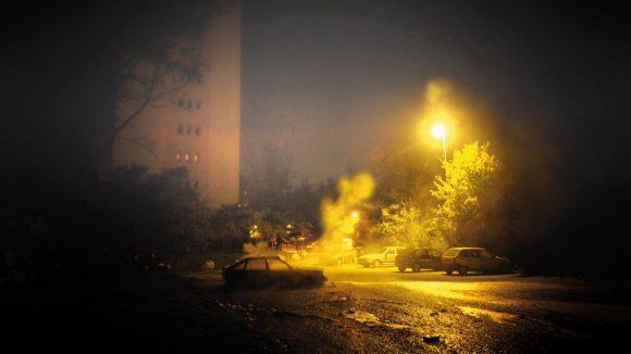 Voiture brulée © afp Kiazek