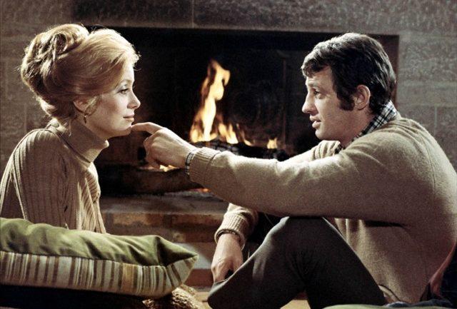 """Catherine Deneuve et Jean-Paul Belmondo dans """"La Sirène du Mississipi"""" de François Truffaut (1969)"""