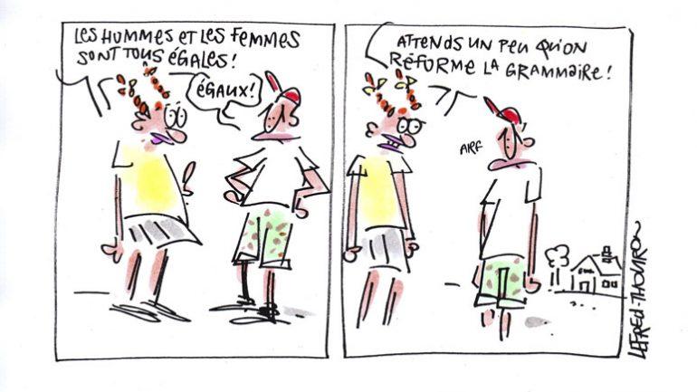 Egalité filles-garçons © Lefred-Thouron