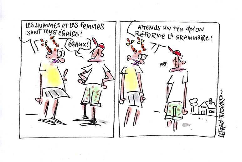 Dessin © Lefred-Thouron