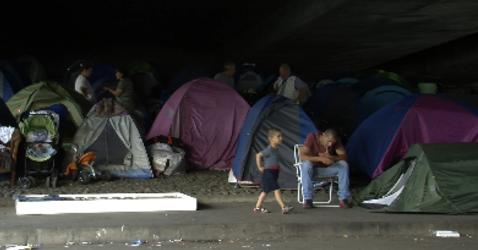 Campement Albanais Perrache 7.10.13