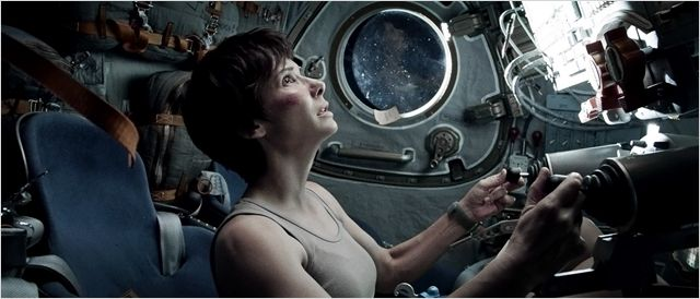 Sandra Bullock dans Gravity, d'Alfonso Cuaron © Warner Bros Entertainment