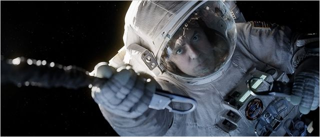 George Clooney dans Gravity, d'Alfonso Cuaron © Warner Bros Entertainment