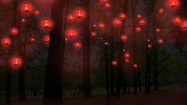 Fête lumières 13 Chine parc