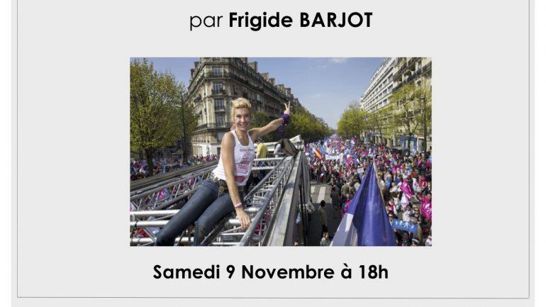 Affiche-conf-frigide-barjot-mariage-9-nov-2013