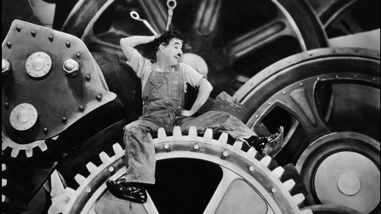 Chaplin Temps modernes