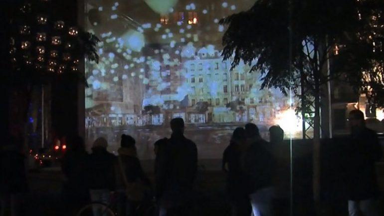 Fête lumières 2013 place Jacobins