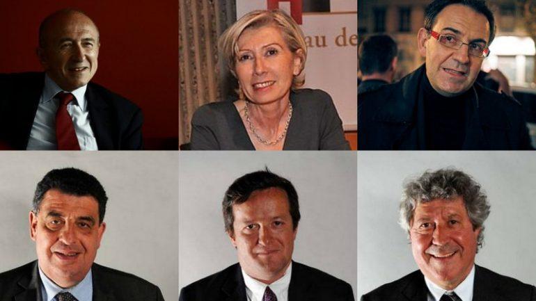 Candidats municipales 2014 Collomb 2