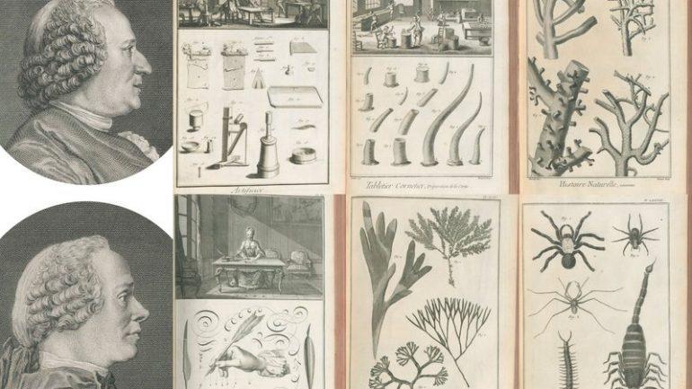 Diderot d'Alembert montage Encyclopédie
