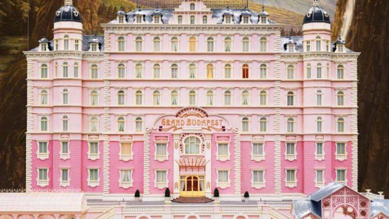 Grand Budapest Hotel détail affiche