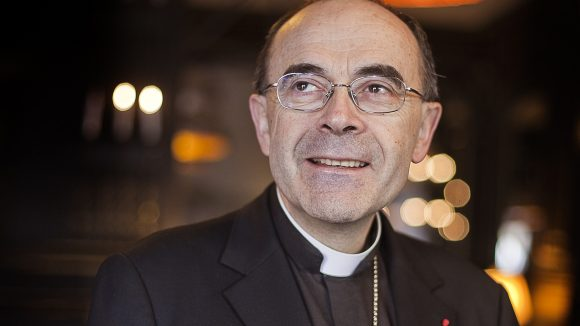 Le cardinal Philippe Barbarbarin dans l'autre direct le 5 mars 2014