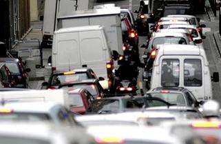 Des voitures à Lyon