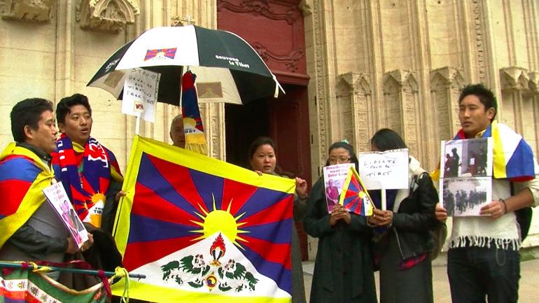 manif tibet