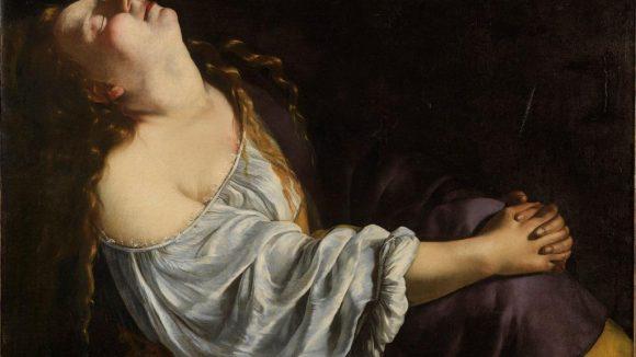 Ste Marie-Madeleine en extase Artemisia Gentileschi