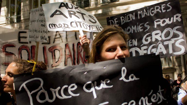Intermittents - manifestation du 16 juin