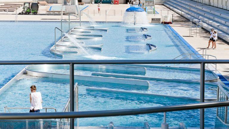 piscine du Rhône bassin nord