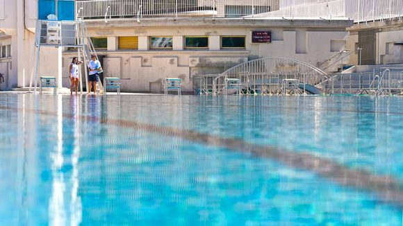 piscine du Rhône bassin sud