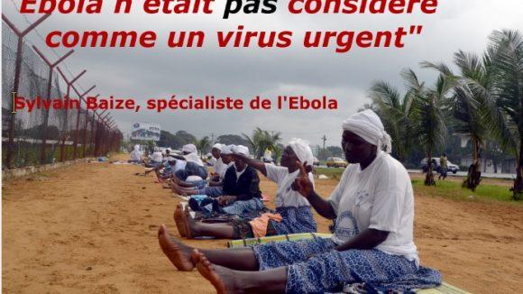 Ebola itw Sylvain Baize