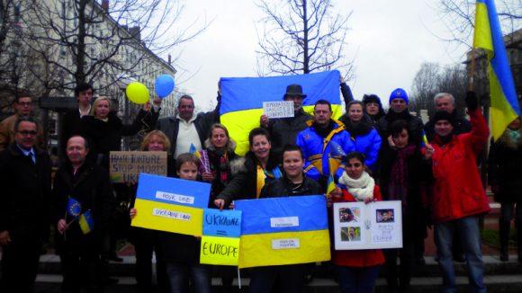 Manifestation Ukraine 26 janvier 2014