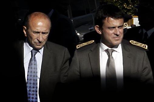 Gérard Collomb et Manuel Valls