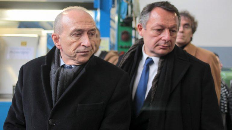 Gérard Collomb et Thierry Braillard