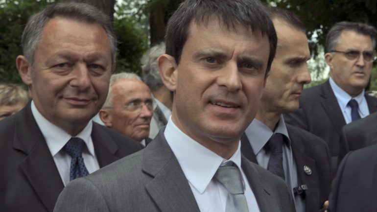 Manuel Valls et Thierry Braillard