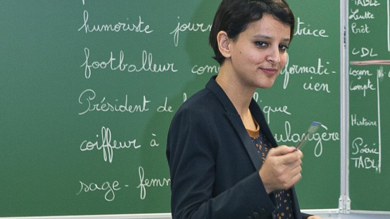 Najat Vallaud-Belkacem ministre de l'éducation