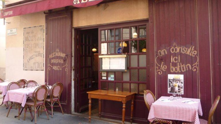 café comptoir abel terrasse