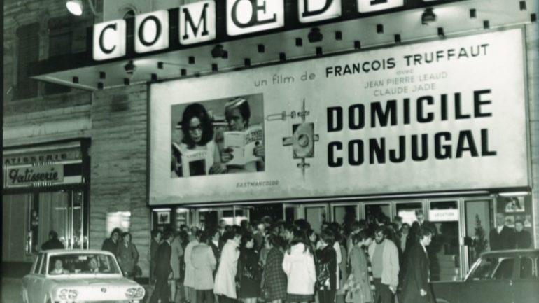 La Façade du Comoedia en 1970