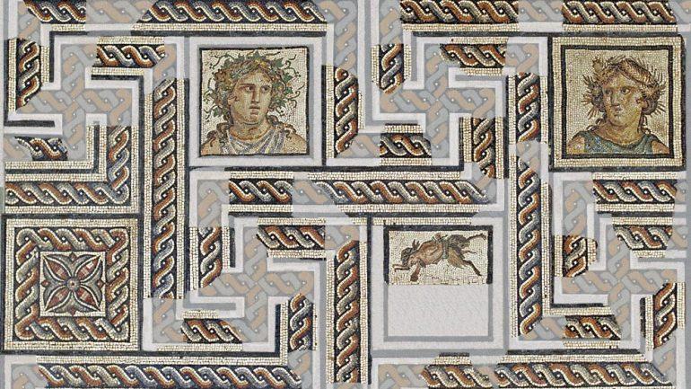 Mosaïque musée gallo-romain