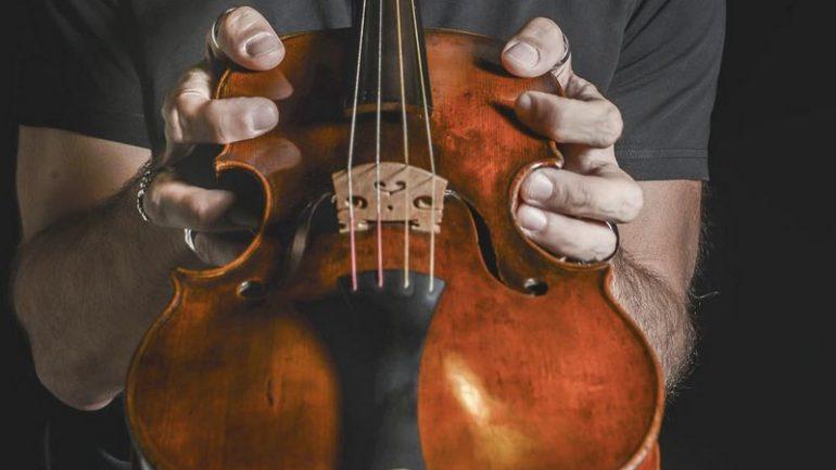 Stefano Montanari home violon
