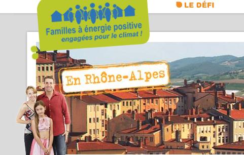 Familles à énergie positive défi