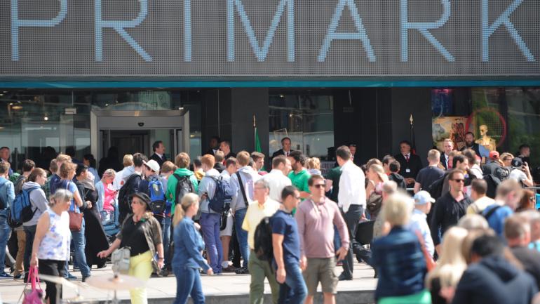 Ouverture d'un magasin Primark en Allemagne