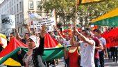 Manifestation kurde en soutien à Kobané