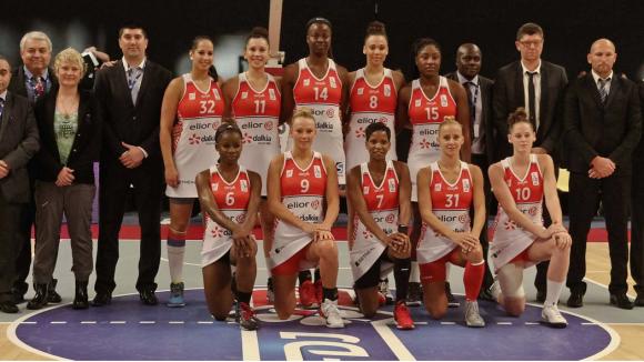 Lyon Basket féminin 2014/2015